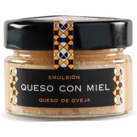 Crema de queso con miel