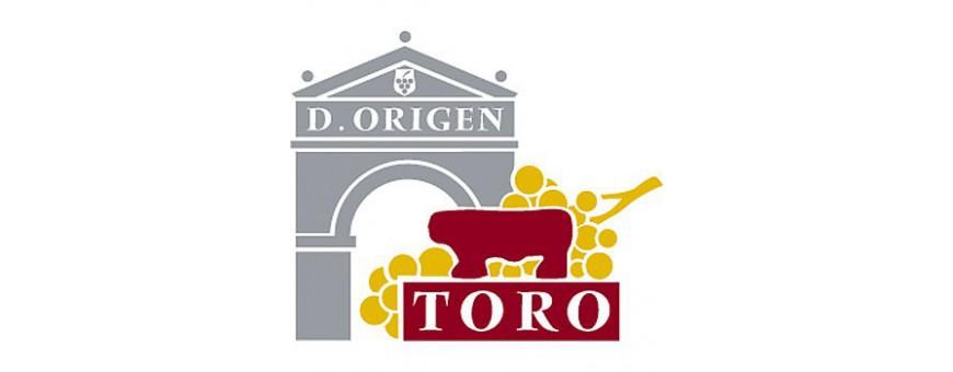Vinos de la Denominación de Origen Toro